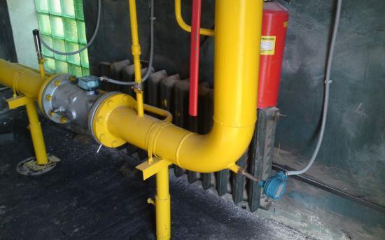 Измерительный участок трубопровода (газ)