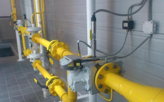 Измерительный участок газопровода