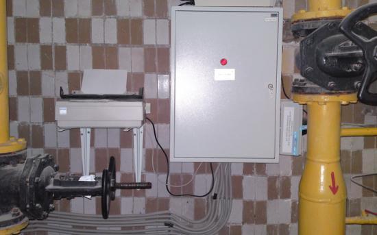 Шкаф коммерческого учета газа ШКУГ