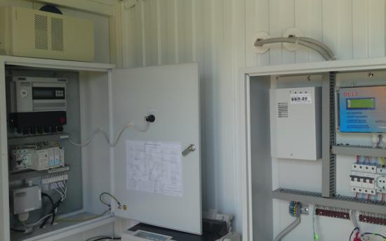 Шкаф коммерческого учета газа и система телеметрии на базе КИТП DELTA